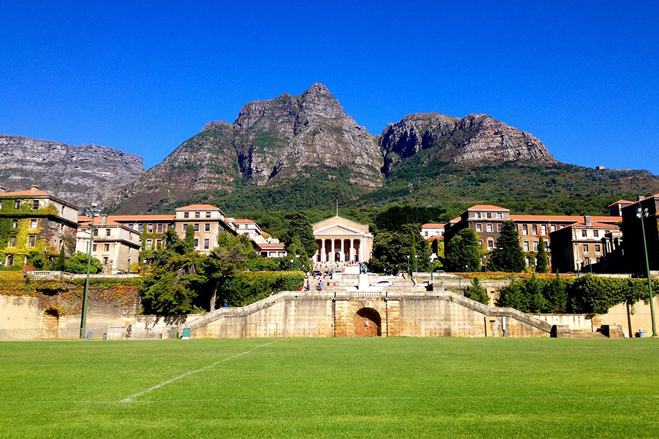 The University of Cape Town in Cape Town, South Africa