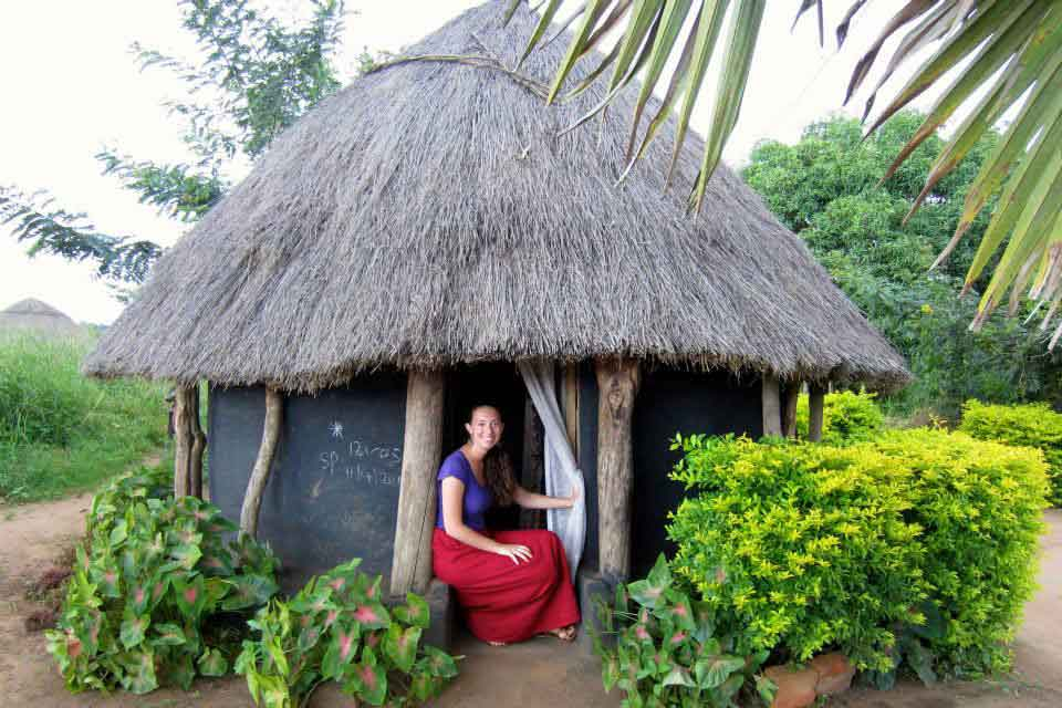 Mia Katan in Uganda