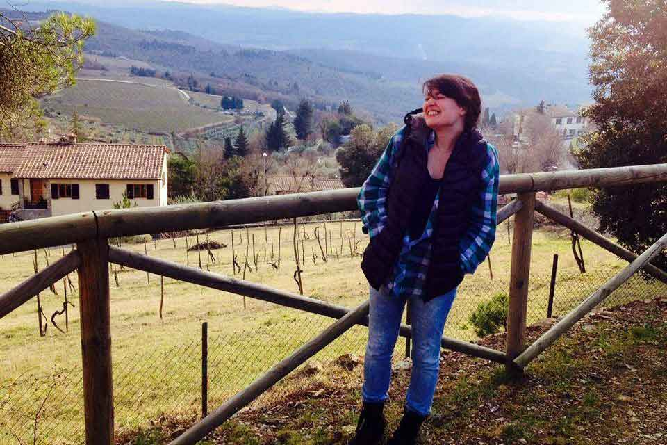 Eve Litvak in Italy