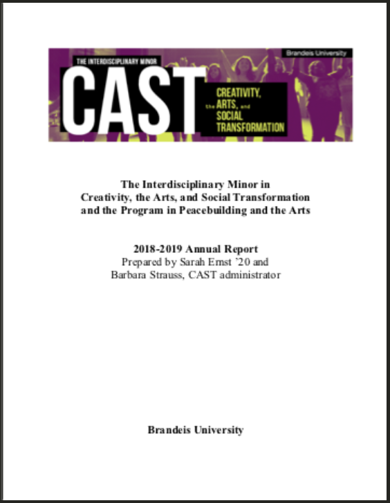 cast report cover