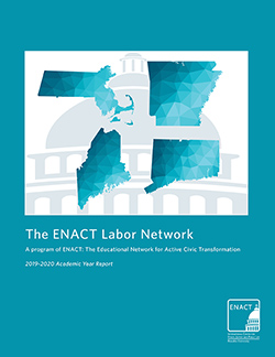 cover of enact labor network 2019-20 report