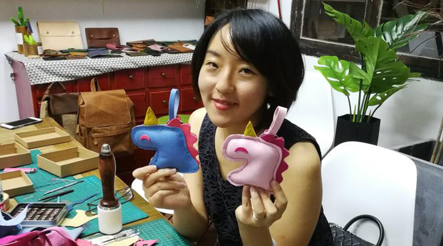 Xiaoqi Wu, MBA'22 converted her passion for making toys into an internship at Hasbro, Inc.