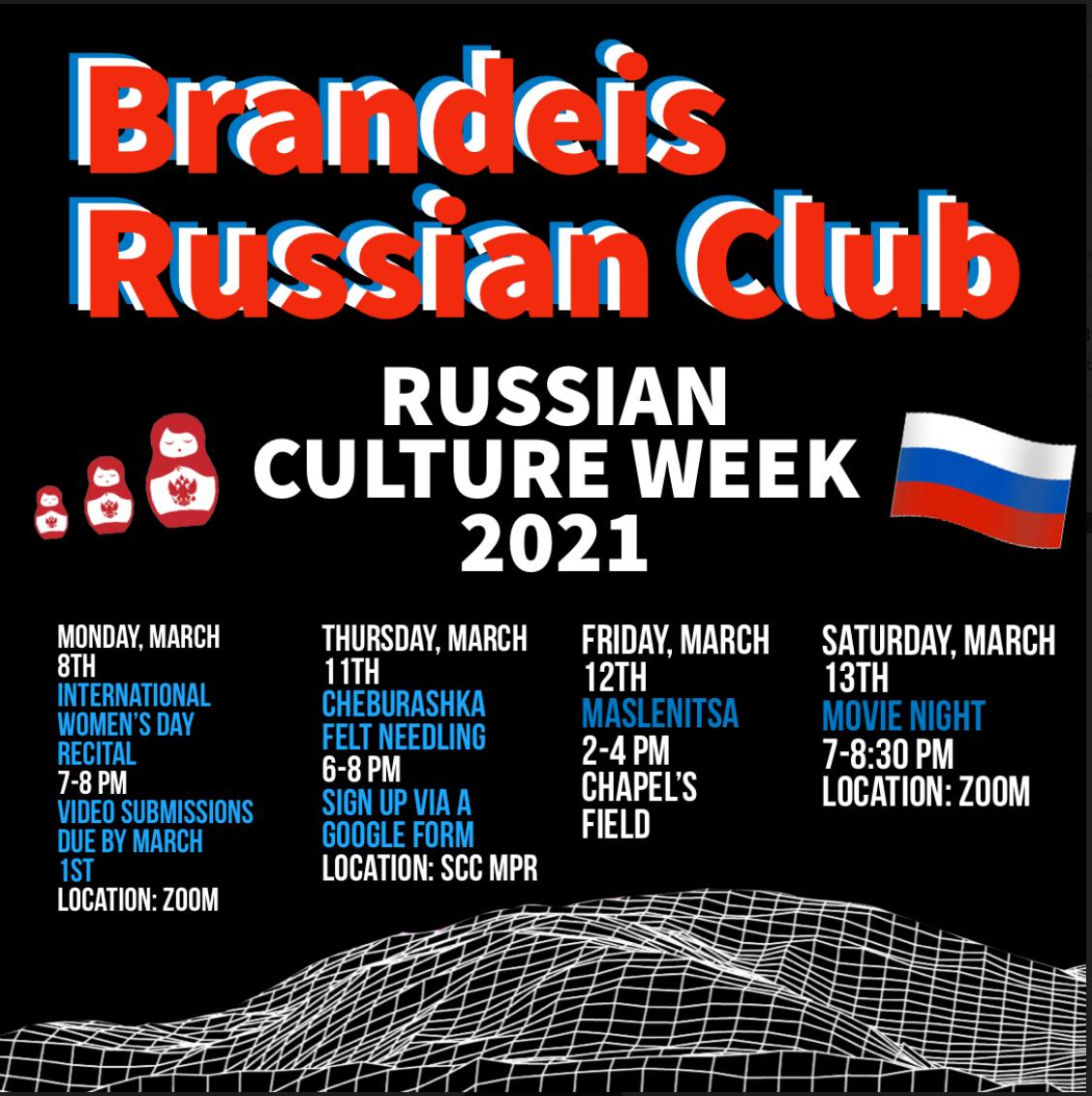 Russian Culture Week 2021