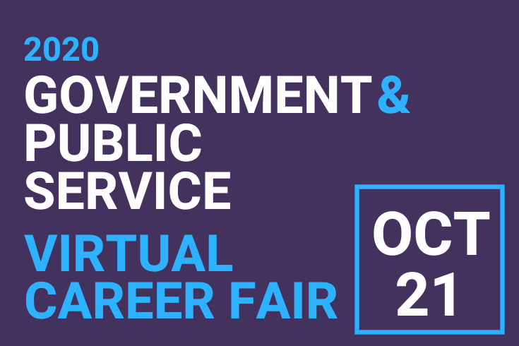 Government and Public Service Fair Flyer