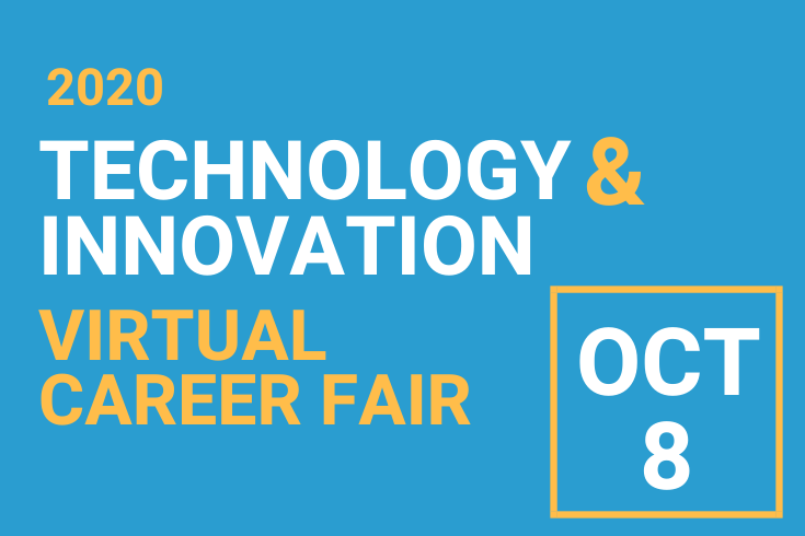 Technology and Innovation Career Fair Flyer