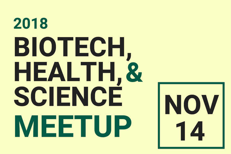 Biotech, Health & Science Event Flyer