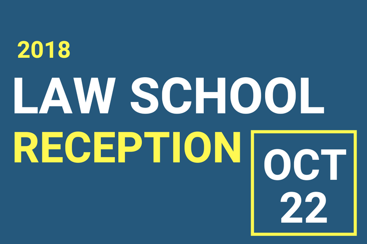 Law School Reception Flyer
