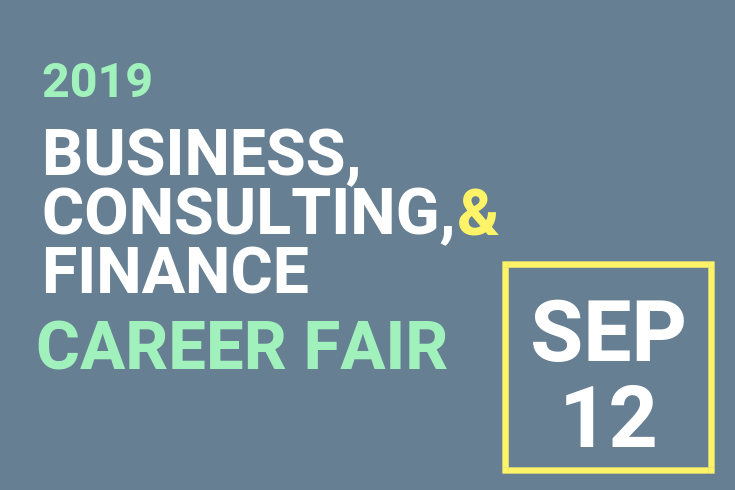 Career Fairs and Industry Events | Recruit at Brandeis