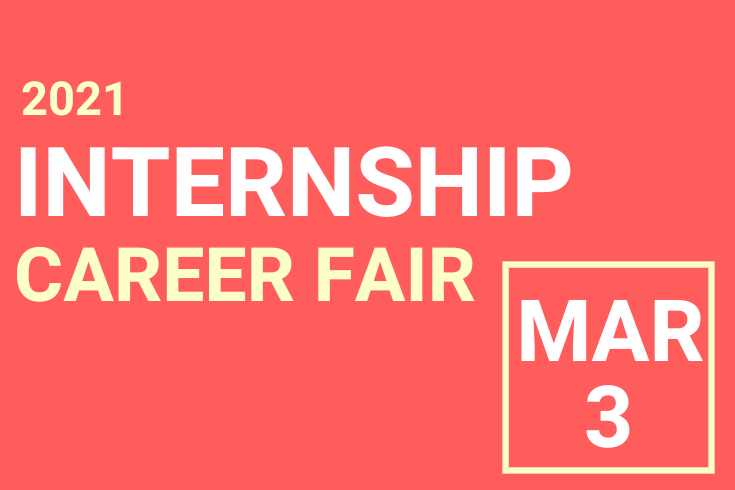 Internship Fair Event Flyer