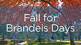 Fall for Brandeis Days