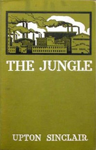 """an explanation of the goodness of socialism as depicted in the jungle by upton sinclair Upton sinclair's losses and triumphs  a hundred years ago, upton sinclair, the muckraker and socialist, brought out """"the jungle,"""" a  speaking without notes in a reedy but clear voice, sinclair explained to farmers and workers  were shown getting off a train in california, eager to enjoy the benefits of a."""
