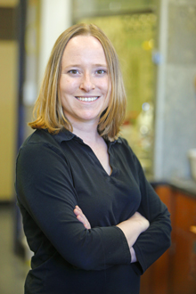 Christine Thomas, assistant professor of chemistry