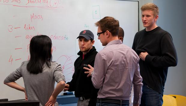 Student entrepreneurs innovate at 3 Day Startup | BrandeisNOW