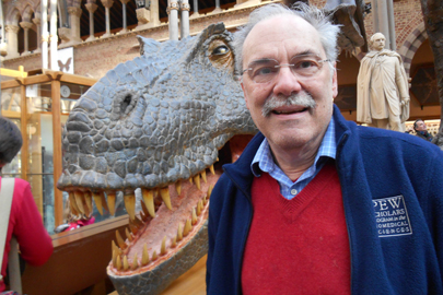 Chris Miller at Oxford University Museum of Natural History