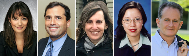 New Brandeis Trustees: Deborah Bial, Josh Kraft, Bonnie Berger, Lan Xue, Jon Davis