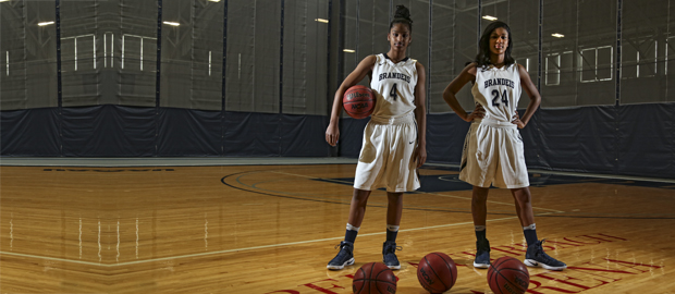 The hodges sisters: Noel '18 and Paris '17 on the court