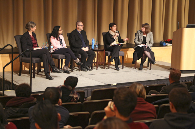 travel ban immigration panel at brandeis