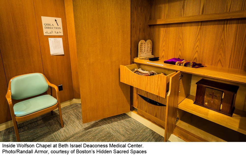 The chapel at Beth Israel Deaconess Medical Center
