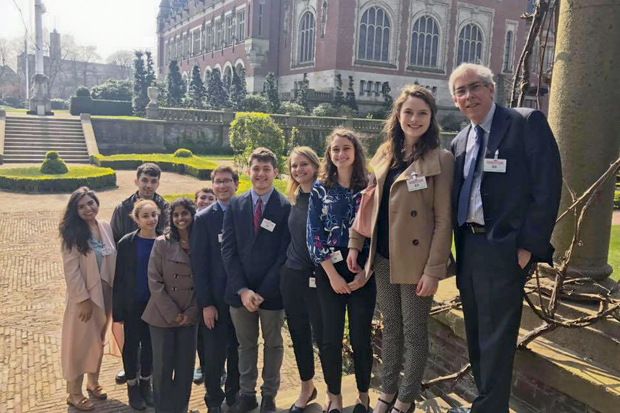 brandeis in the hague students