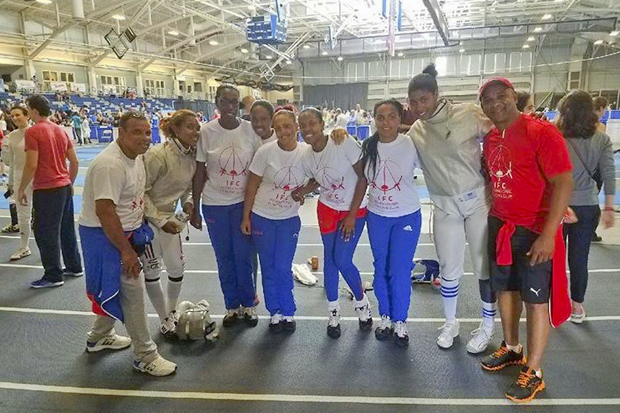 cuban fencing team