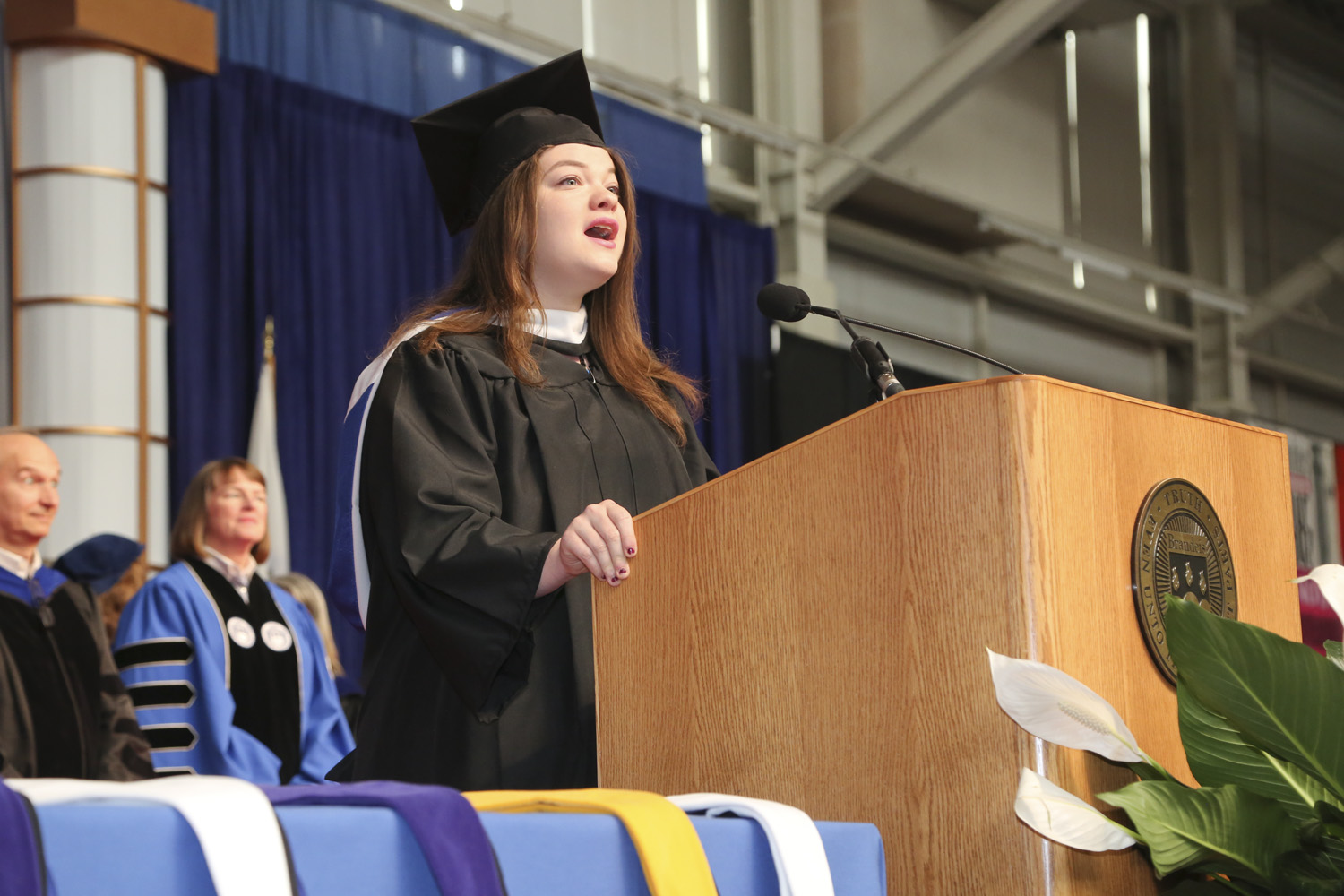 at his commencement from brandeis unive Busdt swimming and diving february 9, 2018 brandeis university swimming and diving honors their nine seniors on february 3rd: abby damsky, genna karp, and amy play video fencing senior day 2018 february 3, 2018 bill shipman honors (and roasts) the seniors on his team at the eric sollee invitational.