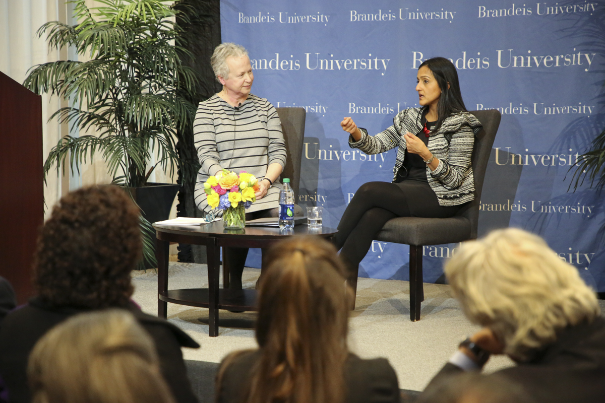 Vanita Gupta with Marya Levenson