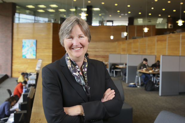 Kathryn Graddy, new dean of the Brandeis University International Business School