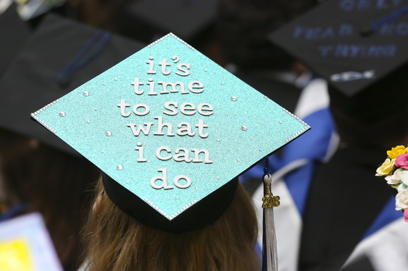 The Top 20 Mortarboards At Brandeis University S 2018 Commencement