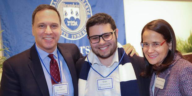 Ron Liebowitz, Elias Rosenfeld and Jessica Liebowitz