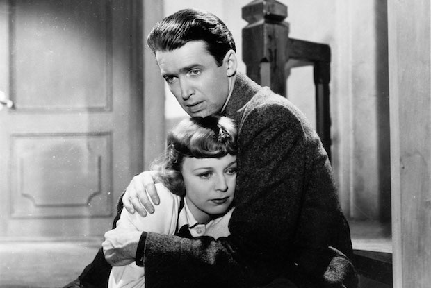 Margaret Sullavan and Jimmy Stewart