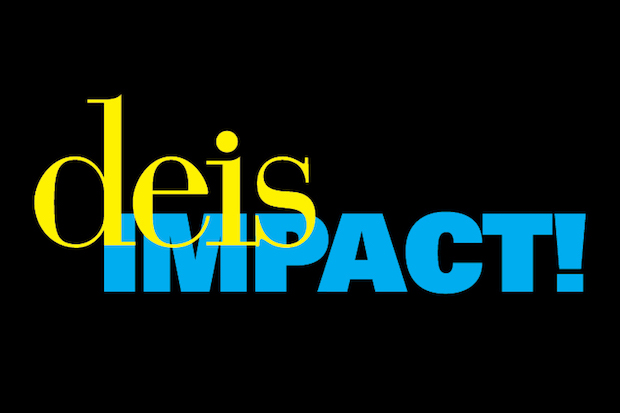 Logo that says deis IMPACT!