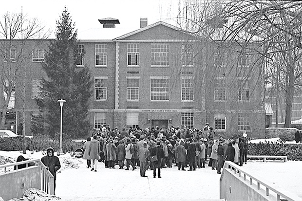 Ford Hall protests in 1969