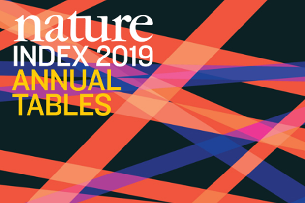 nature index 2019 annual tables