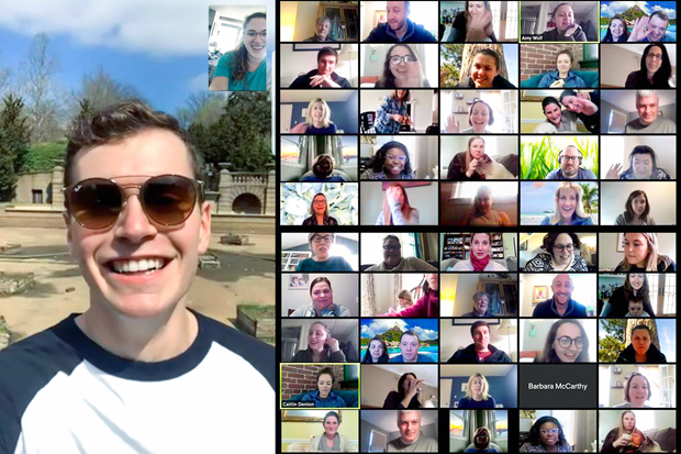 images of people from zoom meetings