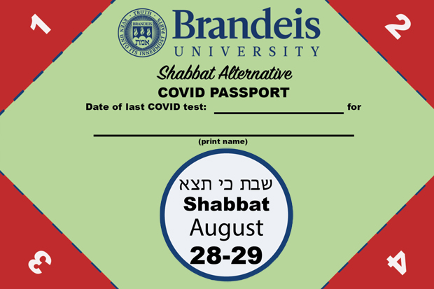 Campus passport for Shabbat