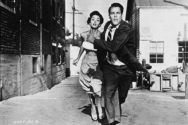 a still from the motion picture Invasion of the Body Snatchers