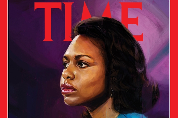 Anita Hill on the cover of TIME