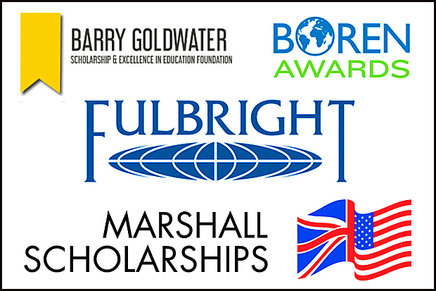 Boren, Goldwater and Fulbright logos