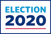 Graphic that says Election 2020