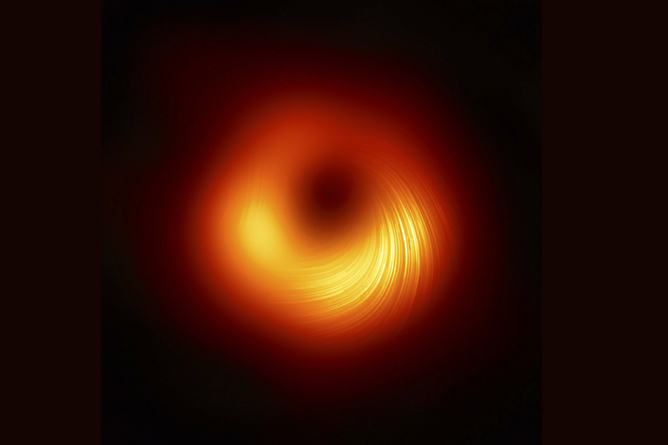 Magnetic fields around black hole
