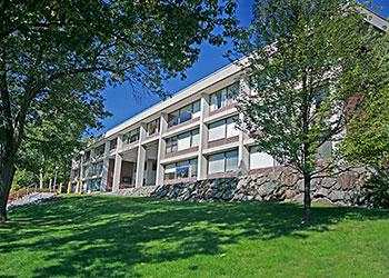 exterior of rabb graduate center